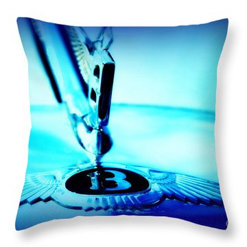 Bentley Hood Ornament Throw Pillow by Susanne Van Hulst