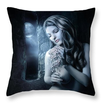 Beside The Window Throw Pillow by Svetlana Sewell