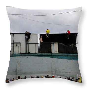 Best Seats In The House Throw Pillow by Al Bourassa