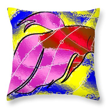 Betta Throw Pillow by Stephen Younts