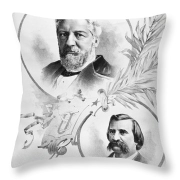 Blaine: Election Of 1884 Throw Pillow by Granger