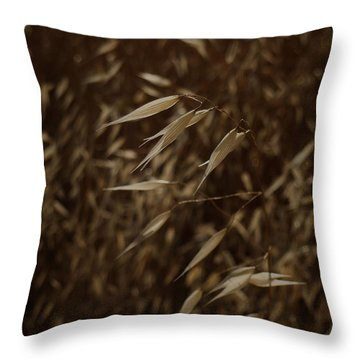 Blowin' In The Wind Throw Pillow by Xueling Zou
