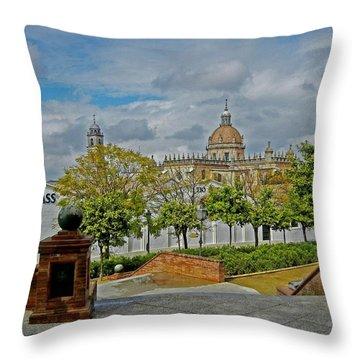 Bodegas Gonzalez Byass - Tio Pepe Throw Pillow by Juergen Weiss