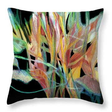 Bouquet Throw Pillow by Ann Powell