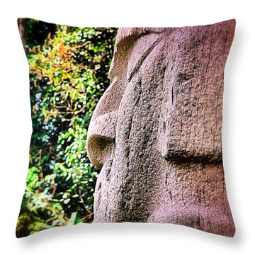 Buddha Nature Throw Pillow by Skip Hunt