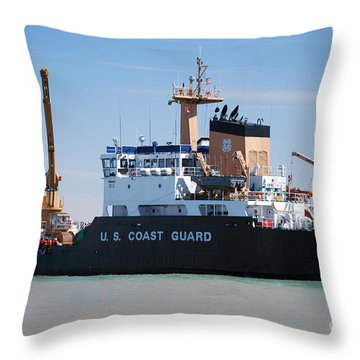 Buoy Changing 2 Throw Pillow by Grace Grogan