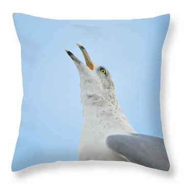 Call Of The Wild Throw Pillow by Bill Cannon