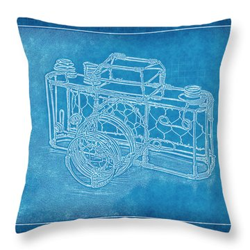 Camera 1b Throw Pillow by Mauro Celotti