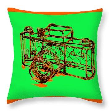 Camera 1c Throw Pillow by Mauro Celotti