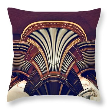 Carillonais Throw Pillow by Aimelle