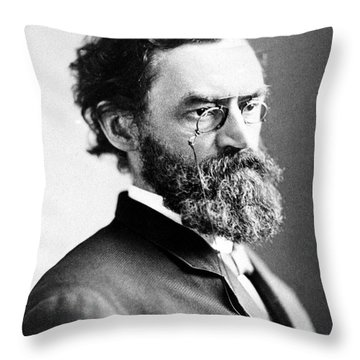 Carl Schurz (1829-1906) Throw Pillow by Granger
