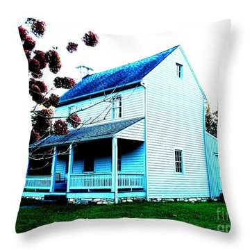 Carnifex Lll Throw Pillow by Amy Sorrell