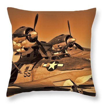 Catalina Throw Pillow by Tommy Anderson