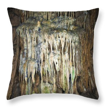 Cave04 Throw Pillow by Svetlana Sewell