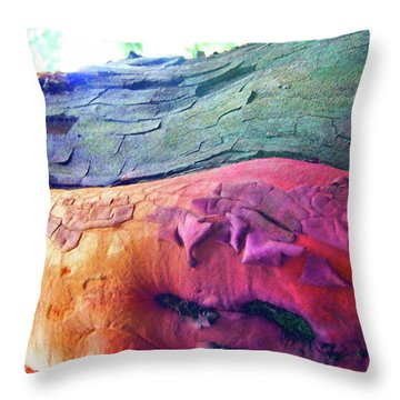 Throw Pillow featuring the digital art Celebration by Richard Laeton