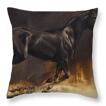 Center Throw Pillow by JQ Licensing