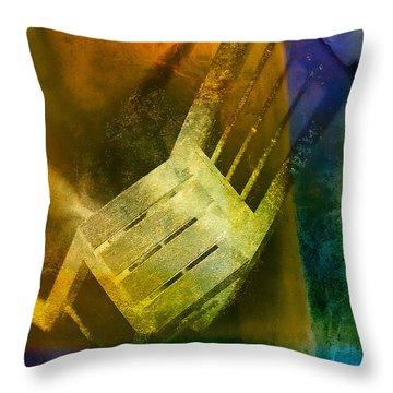 Chair  Throw Pillow by Mauro Celotti