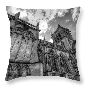 Chapel Of St. John's College - Cambridge Throw Pillow by Yhun Suarez