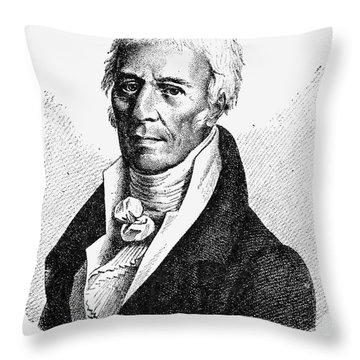Chevalier De Lamarck Throw Pillow by Granger