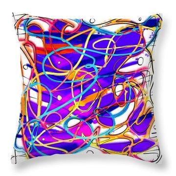 Childhood Memories Throw Pillow by Alec Drake