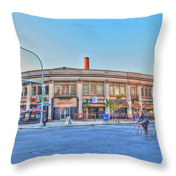 Chippewa And Delaware Throw Pillow by Michael Frank Jr