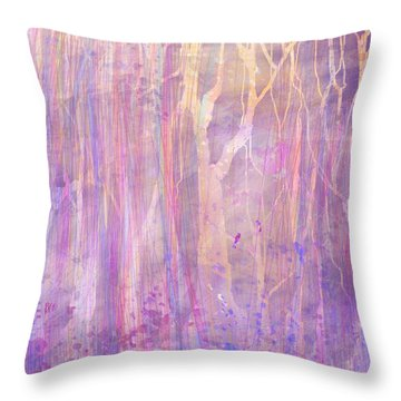 Chitchat Throw Pillow by Rachel Christine Nowicki