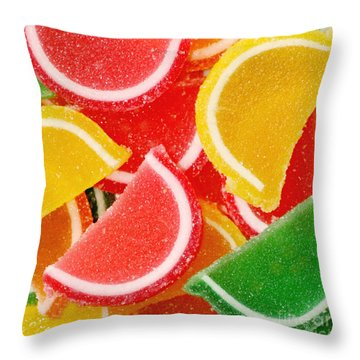 Citrus Throw Pillow by Kim Fearheiley