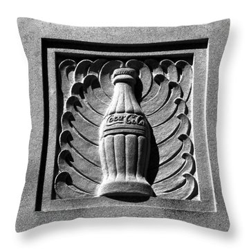 Classic Coke Circa 1920 Throw Pillow by David Lee Thompson