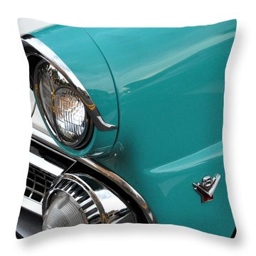 Classic Ford Throw Pillow by John Black