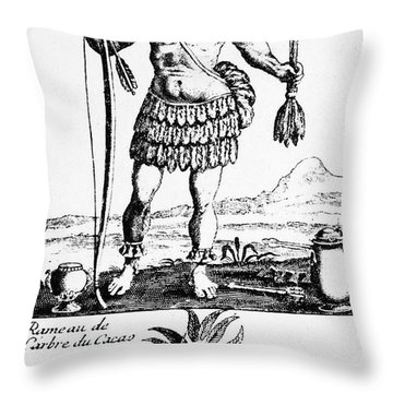 Cocoa, 1685 Throw Pillow by Granger