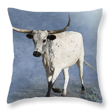 Coming Home Throw Pillow by Betty LaRue