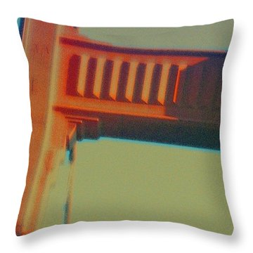 Throw Pillow featuring the digital art Coming In by Richard Laeton