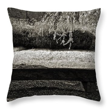 Concurrence Of Causes Throw Pillow by Gwyn Newcombe