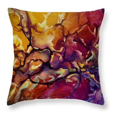 Conflict Throw Pillow by Michael Lang
