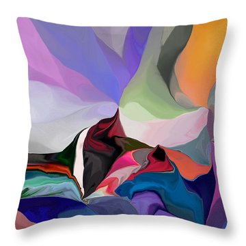 Conjuncture Throw Pillow by David Lane
