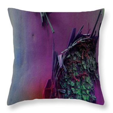 Throw Pillow featuring the digital art Connect by Richard Laeton
