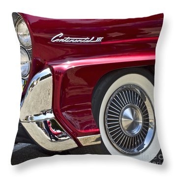 Continental IIi Throw Pillow by Gwyn Newcombe