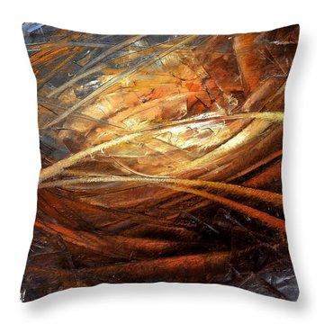 Cosmic Strings Throw Pillow by Arthur Braginsky