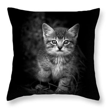 Courageous Throw Pillow by Kim Henderson