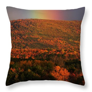 Coveted Gold Throw Pillow by Natalie LaRocque