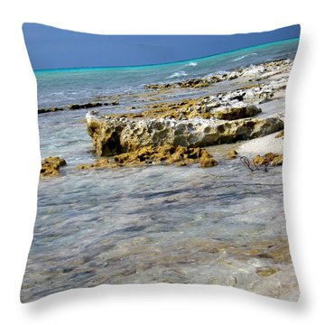 Cozumel Before Thunder Throw Pillow by Danielle  Parent