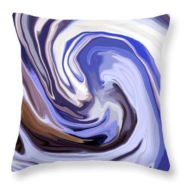 Cyclone Throw Pillow by Chris Butler