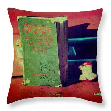Dante's Snack Throw Pillow by Toni Hopper