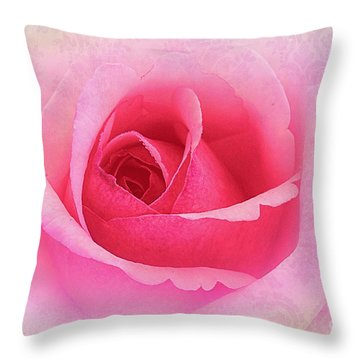 Delicate Throw Pillow by Judi Bagwell