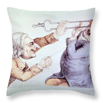 Dentistry Tooth Extraction 1810 Throw Pillow by Science Source