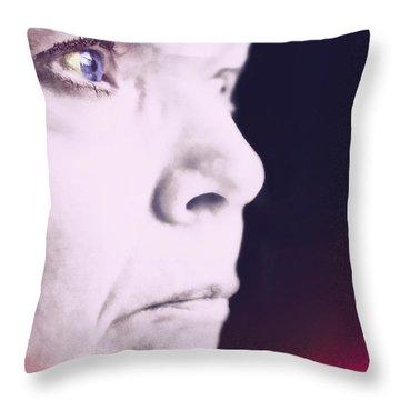 Depression Throw Pillow by Susan Leggett
