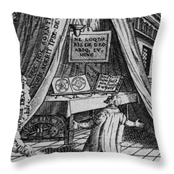 Detail From The First Stage Throw Pillow by Science Source