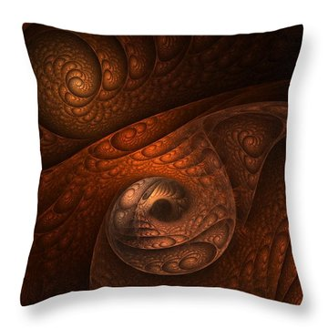 Developing Minotaur Throw Pillow by Lourry Legarde