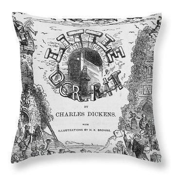 Dickens: Little Dorit Throw Pillow by Granger