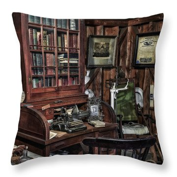 Doctor's Office Throw Pillow by Susan Candelario